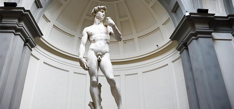 包茎のダビデ像
