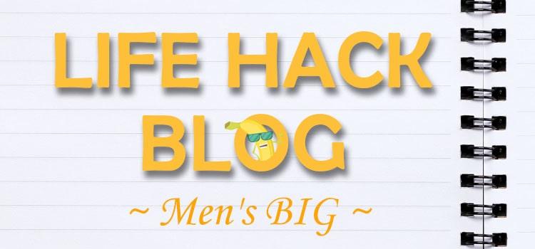 ライフハックブログ~Men's BIG~