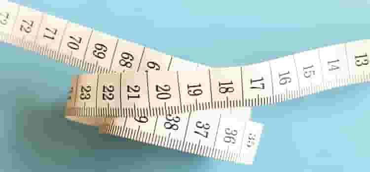 サイズを測るメジャー