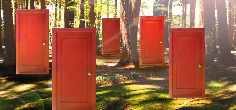 森の中にある5つの扉